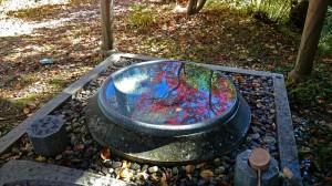 霊松寺の手水舎